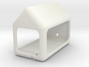 Keymann Ghia parking for the Matchbox Karmann Ghia in White Natural Versatile Plastic