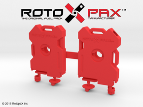 TR10016 TRX-4 RotopaX door mount RED in Red Processed Versatile Plastic