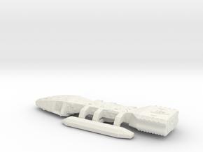 Original Battlestar Galactica 160mm in White Natural Versatile Plastic