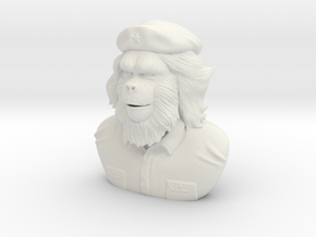 Che Gorilla in White Natural Versatile Plastic