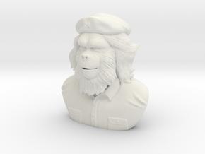 Che Gorilla in White Natural Versatile Plastic