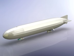 German Airship Zeppelin L10 (LZ 40) 1/2400 in Smooth Fine Detail Plastic