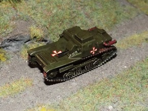 1/72nd scale 35M Ansaldo hungarian tankette in Smooth Fine Detail Plastic
