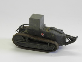 1/87th scale Renault Ft-17 Poseur de masque in Smooth Fine Detail Plastic