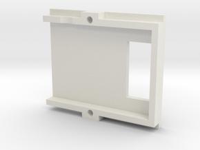 DJI Zenmuse H3-3D - Xiaomi Yi adapter (main) in White Natural Versatile Plastic