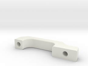 Door handle for Traxxas TRX-4 body v1 in White Natural Versatile Plastic