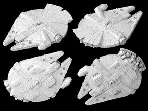 "YT-1300 ""Last Chance"" (1/270) in White Natural Versatile Plastic"