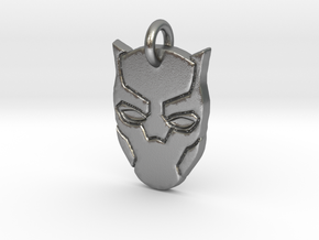 Marvel - Black Panther Pendant in Natural Silver