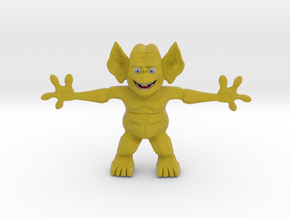 Freddy Freaker, the Party Freak in Full Color Sandstone