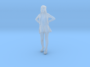 Printle C Femme 035 - 1/120 - wob in Smooth Fine Detail Plastic