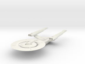 Federation Hood Class II Cruiser in White Natural Versatile Plastic