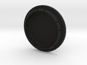 VW FELGENDECKEL_2 bis 7 Zeichen beschreibar in Black Natural Versatile Plastic
