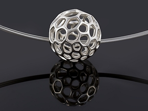 Gaia-50 (from $12) in Fine Detail Polished Silver