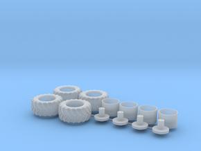H0 1:87 Reifen 600/55 R26.5 (a) in Smooth Fine Detail Plastic
