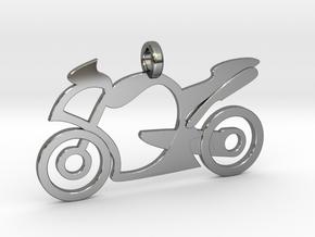 Motorcycle racing in Premium Silver