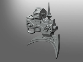 Exemplar pattern Thunder Poleaxe in Smooth Fine Detail Plastic: Small