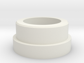 "TGS-Neopixel Adapter 1"" thin in White Natural Versatile Plastic"