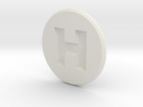 Hornady Powder Dispenser Cover in White Natural Versatile Plastic