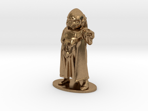 Dungeon Master Miniature in Natural Brass: 1:55