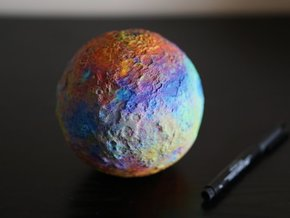 Ceres, False Colour in Full Color Sandstone
