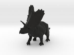 DINO - Pentaceratops in Black Natural Versatile Plastic