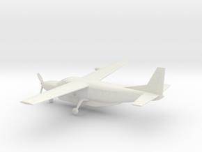 Cessna 208B Grand Caravan in White Natural Versatile Plastic: 1:100