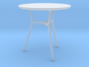 Miniature Tribu Branch Contract Table - Tribu in Smooth Fine Detail Plastic: 1:12