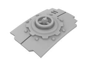 Mechanic - Carapace Hatch in Frosted Extreme Detail