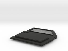 TRX-4 Tactical Front Right Door no logo in Black Natural Versatile Plastic