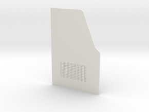 TRX-4 Rear door driver side v1 in White Natural Versatile Plastic