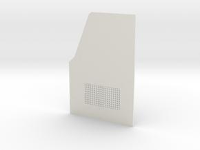 TRX-4 Read door passenger side v1 in White Premium Versatile Plastic