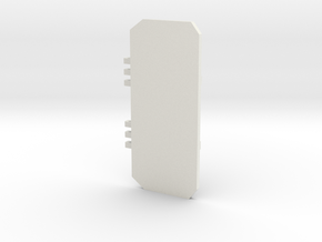 Top door Tactical only in White Natural Versatile Plastic