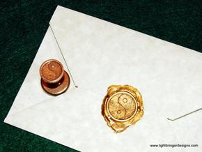 Yinyang Wax Seal in Stainless Steel