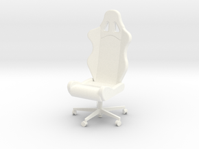 Armchair Tech3 in White Processed Versatile Plastic