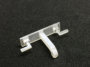 1:12 Tap wall mounted in Smooth Fine Detail Plastic