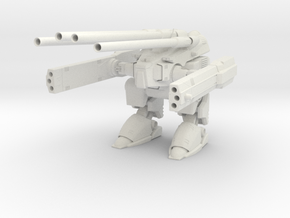 Robotech  Destroid Monster MK II in White Natural Versatile Plastic