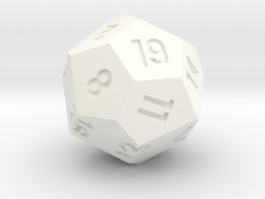 d19 in White Strong & Flexible Polished