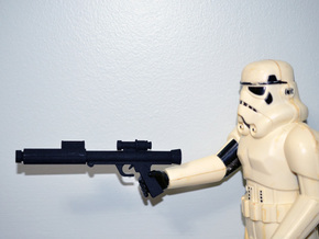 "PRHI Star Wars Kenner Stormtrooper 12"" Blaster 2 in Black Natural Versatile Plastic"