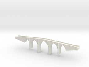 Bridge_1:285 in White Natural Versatile Plastic