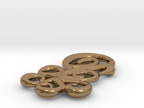 Shapes of flower in Natural Brass