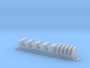 Schiff Strahler / Ship Spotlight 1:50 (Back) in Smoothest Fine Detail Plastic