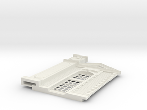 HOGG-BVA01d-g - Large modular train station in White Natural Versatile Plastic