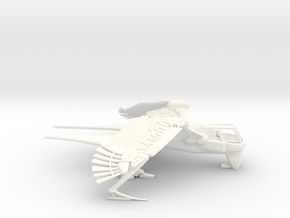 Ornithopter - Swallow Class (Landed) in White Processed Versatile Plastic