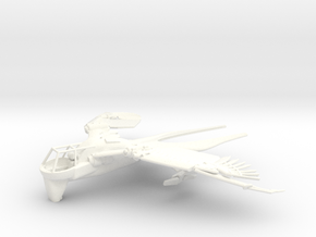 Ornithopter - Swallow Class (gliding pose) in White Processed Versatile Plastic