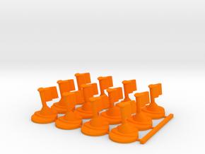 Twilight Army in Orange Processed Versatile Plastic