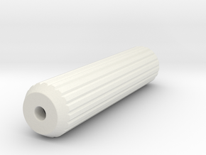 Replacement Part for Ikea DOWEL 101351 in White Natural Versatile Plastic