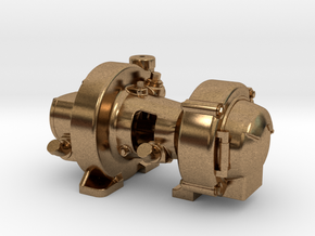 "Pyle Type ""K2"" Steam Turbo Generator in Natural Brass"