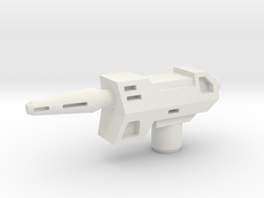 B Bee Laser Pistol in White Natural Versatile Plastic