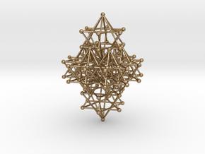 Quartz Crystal Variation in Polished Gold Steel