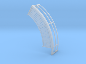 1/64 18' Tower Catwalk Round Right in Smooth Fine Detail Plastic